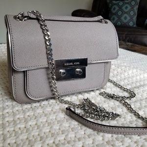 MK sloan grey crossbody shoulder bag